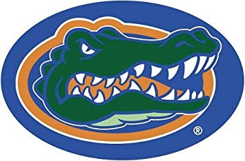 Amazon.com: 7 Inch Albert Gator Logo Decal UF University of.
