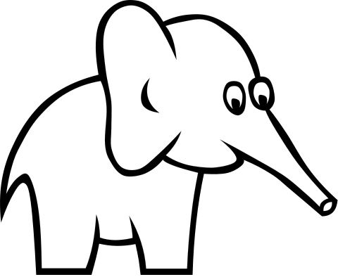 Free Albino Elephant Clipart, 1 page of Public Domain Clip Art.