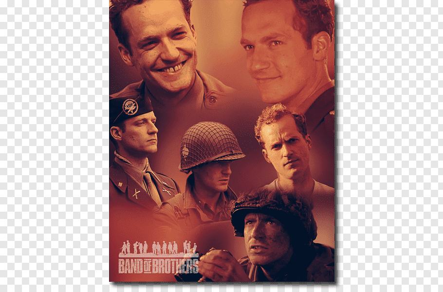 Band of Brothers Album cover Poster, Brave Brothers free png.