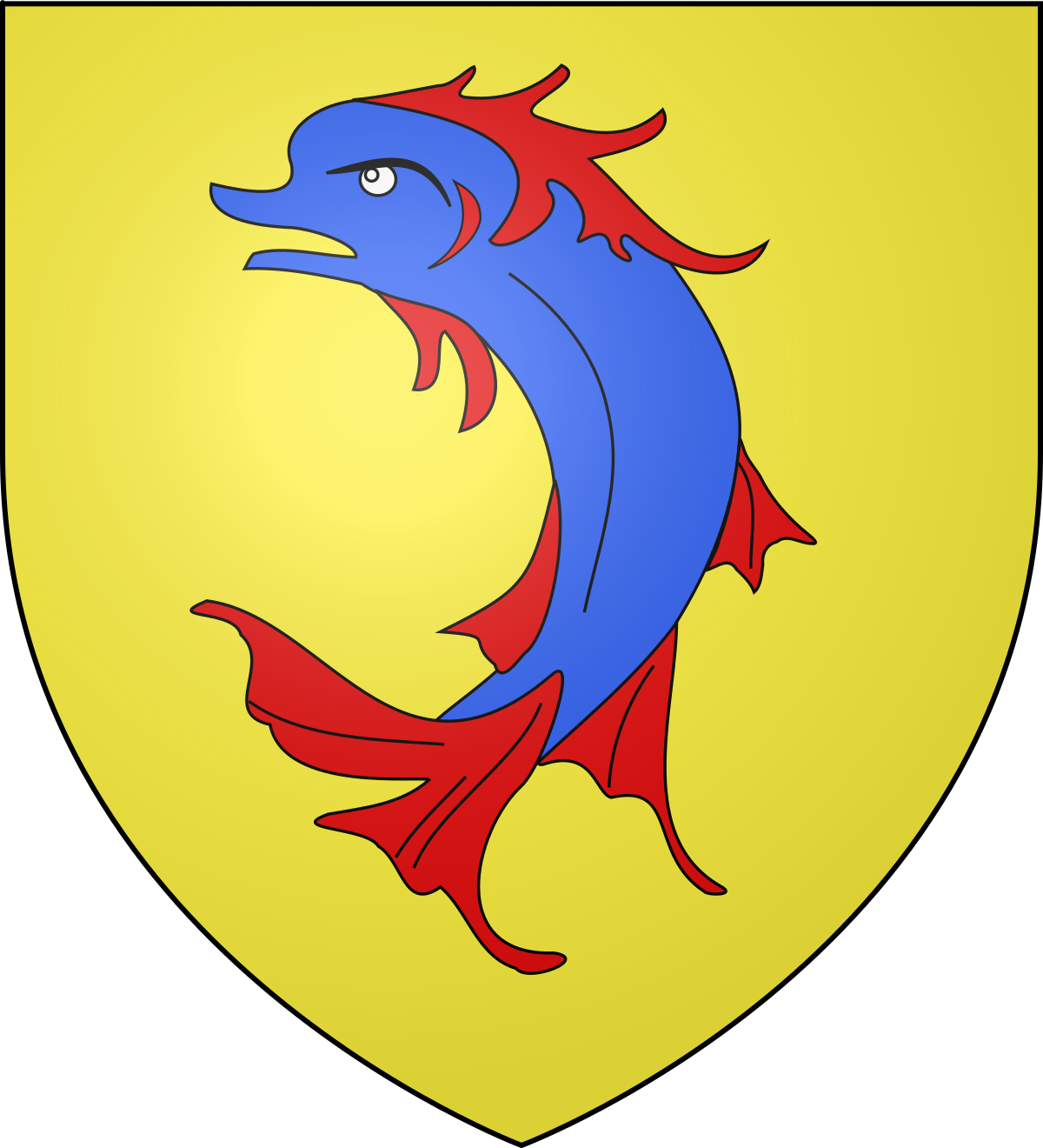 List of counts of Albon and dauphins of Viennois.