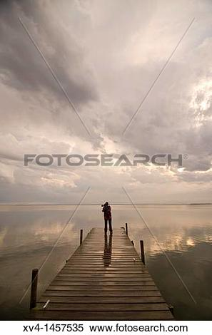 Stock Image of Albufera de Valencia Nature Park, Valencia, Spain.