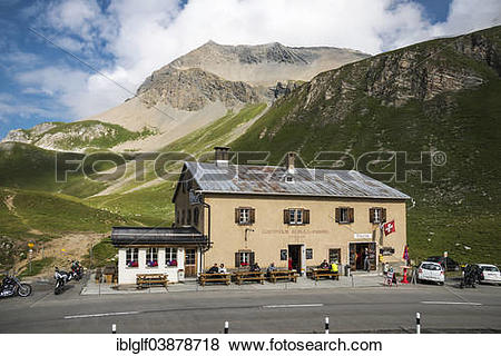 "Pictures of ""Guesthouse of Albula Hospice, Albula Pass, 2315 m."