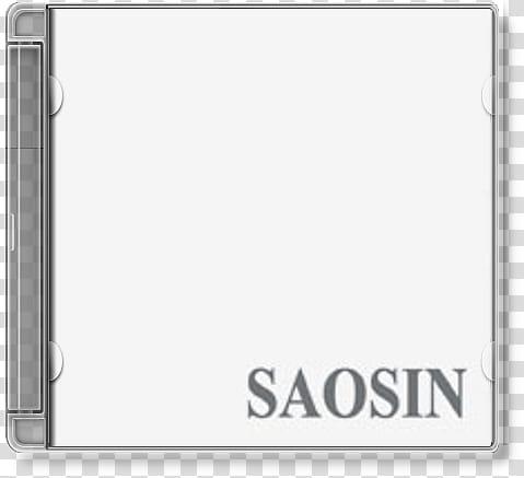 Album Cover Icons, saosin, white background with Saosin transparent.