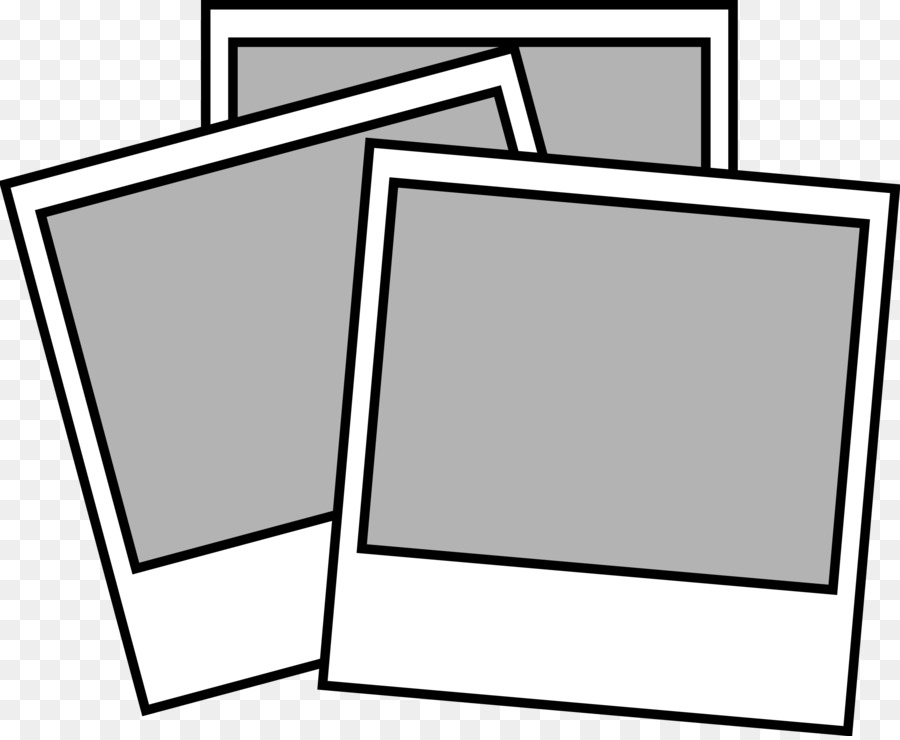 Black And White Frametransparent png image & clipart free download.