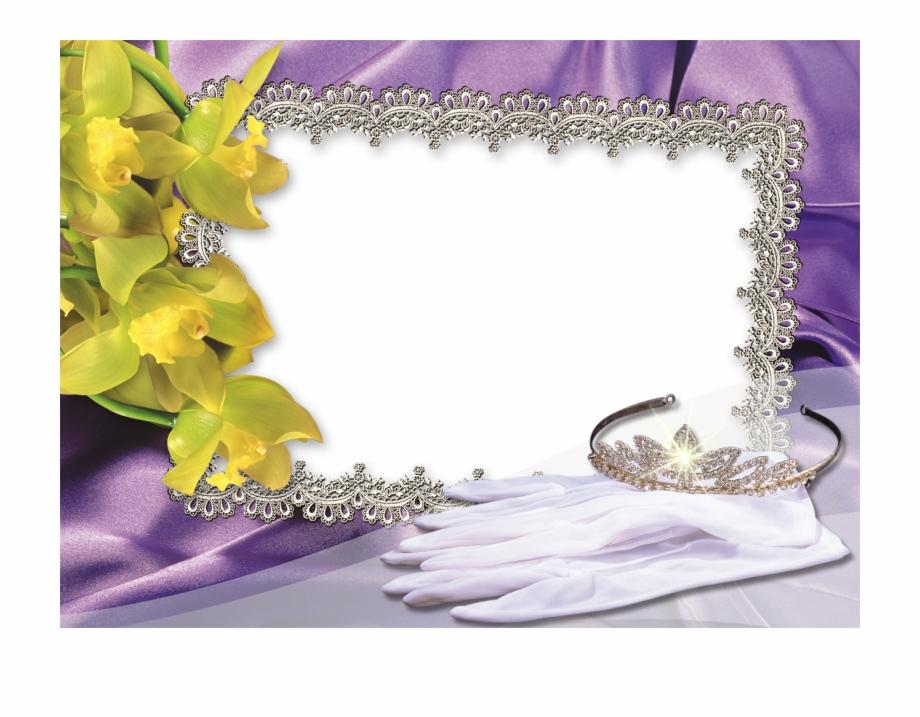 High Resolution Backgrounds Wedding Album Design Frame.