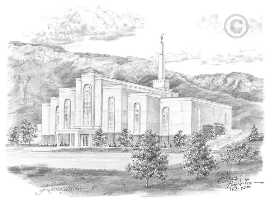 Albuquerque New Mexico Temple.
