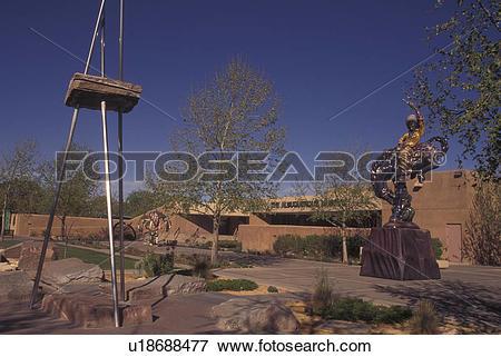 Picture of Albuquerque, NM, New Mexico, Albuquerque Museum.