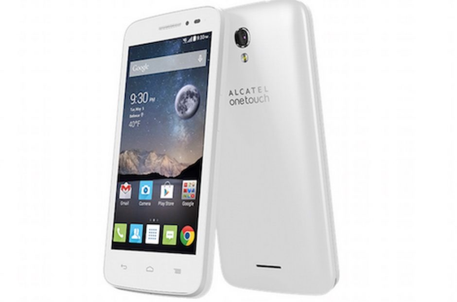 Alcatel One Touch Pop Astro hits T.