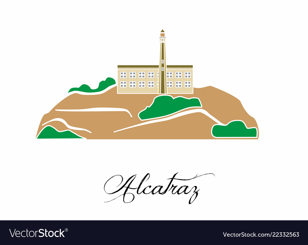 With the beautiful alcatraz usa.