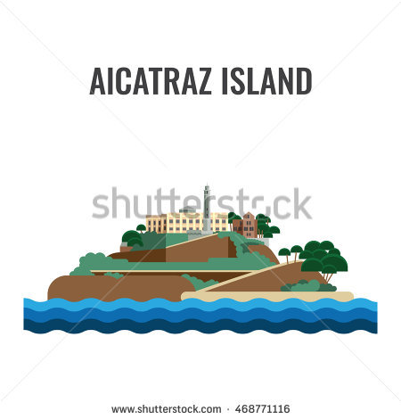 Alcatraz Stock Photos, Royalty.