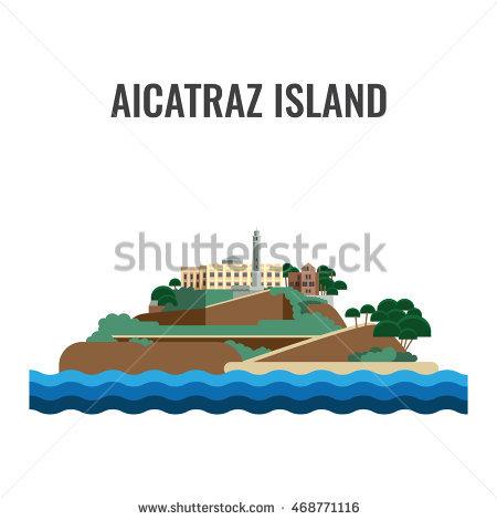 Alcatraz Stock Photos, Royalty.