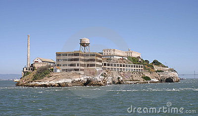 Alcatraz Island Stock Image.
