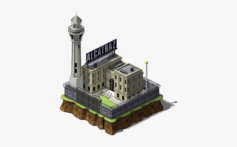 Alcatraz Federal Prison.