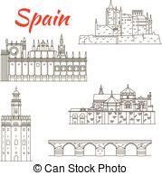Alcazar Vector Clipart Illustrations. 16 Alcazar clip art vector.