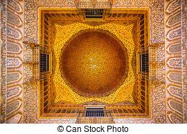 Stock Photo of Royal Alcazar of Seville.