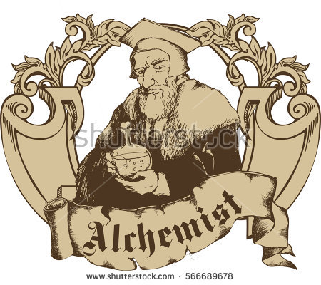 Alchemist Stock Photos, Royalty.