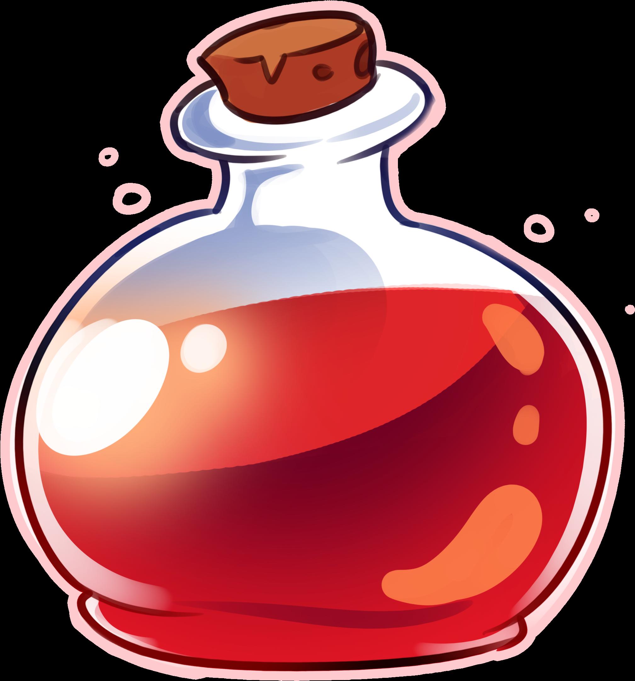 Potion Drink Alchemy Bottle Poison.