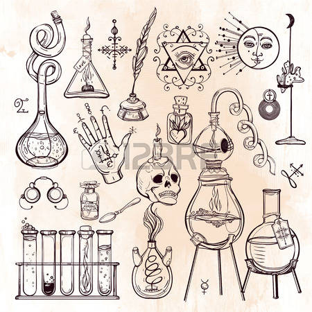 7,675 Alchemy Stock Vector Illustration And Royalty Free Alchemy.