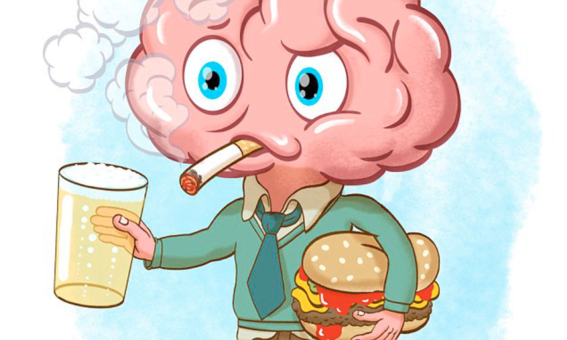 Drinking, smoking and eating too much fast food can sabotage.