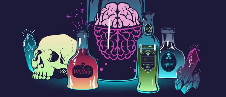 What are the effects of alcohol on the brain?.