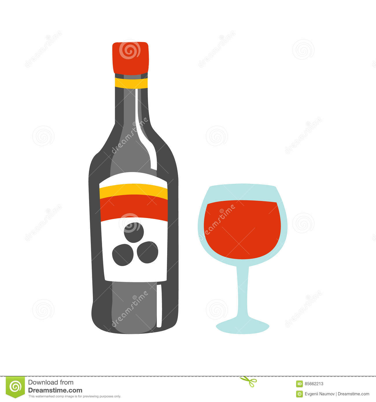 1431 Alcohol free clipart.