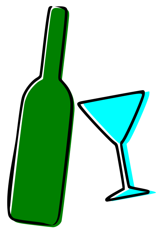 Alcohol Clipart.