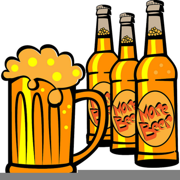 Alcoholic Drink Clipart.