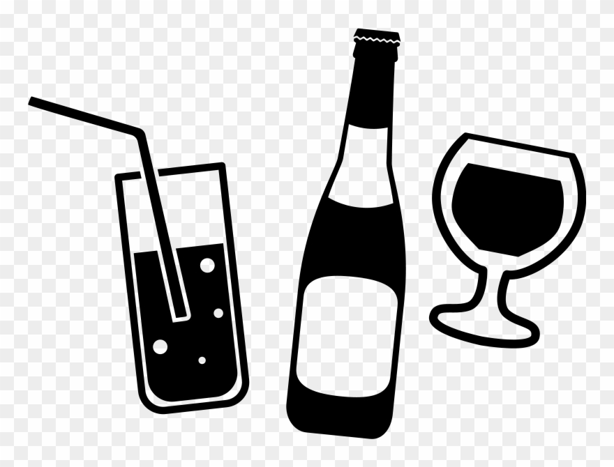 Drinks & Alcohol Clipart (#1343047).