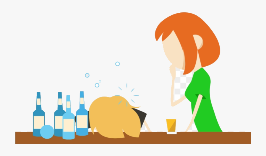 Alcohol Effects Of Abuse Addiction Clipart Transparent.