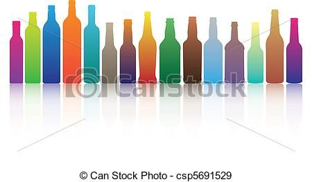 Alcohol Bottle Liquor Clipart.
