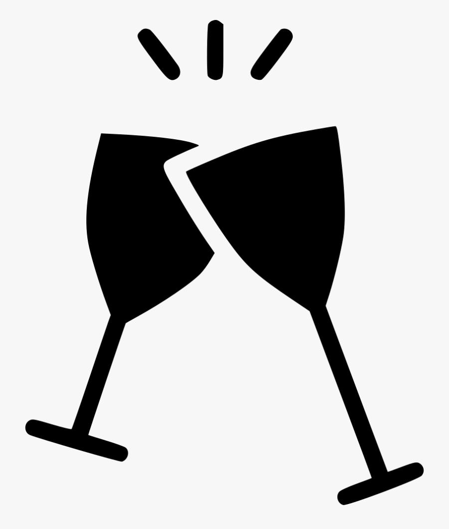 Cheers Wine Glass Celebrate Alcohol.