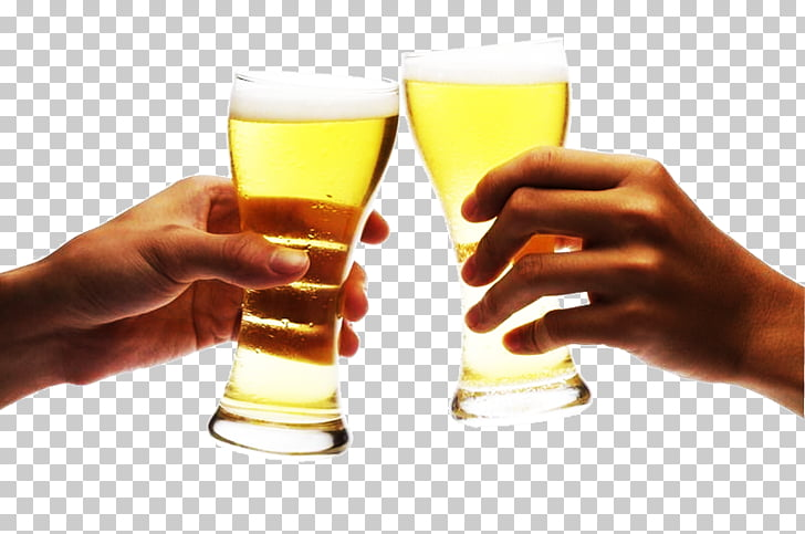 Beer Cup Toast, Drink a toast toast creative scene, two.