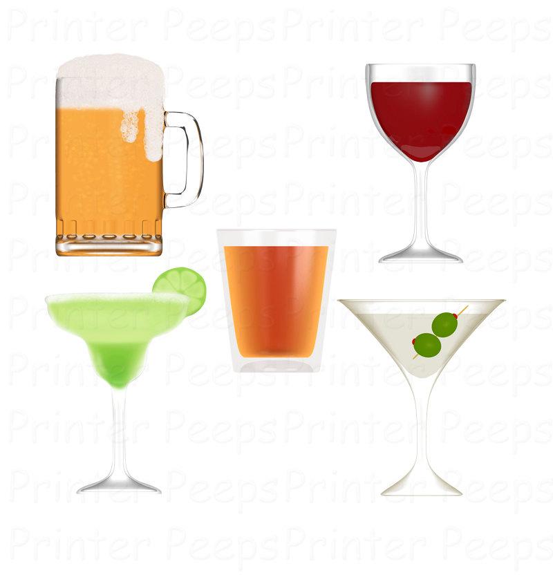 Alcohol clip art.