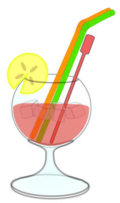 Drinking Alcohol Clipart.