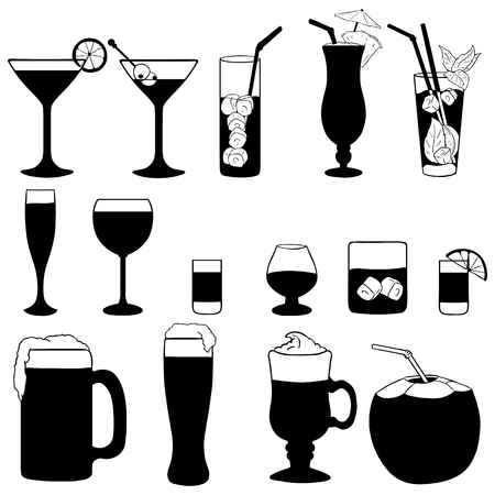Alcohol Clipart Black And White (95+ images in Collection) Page 1.