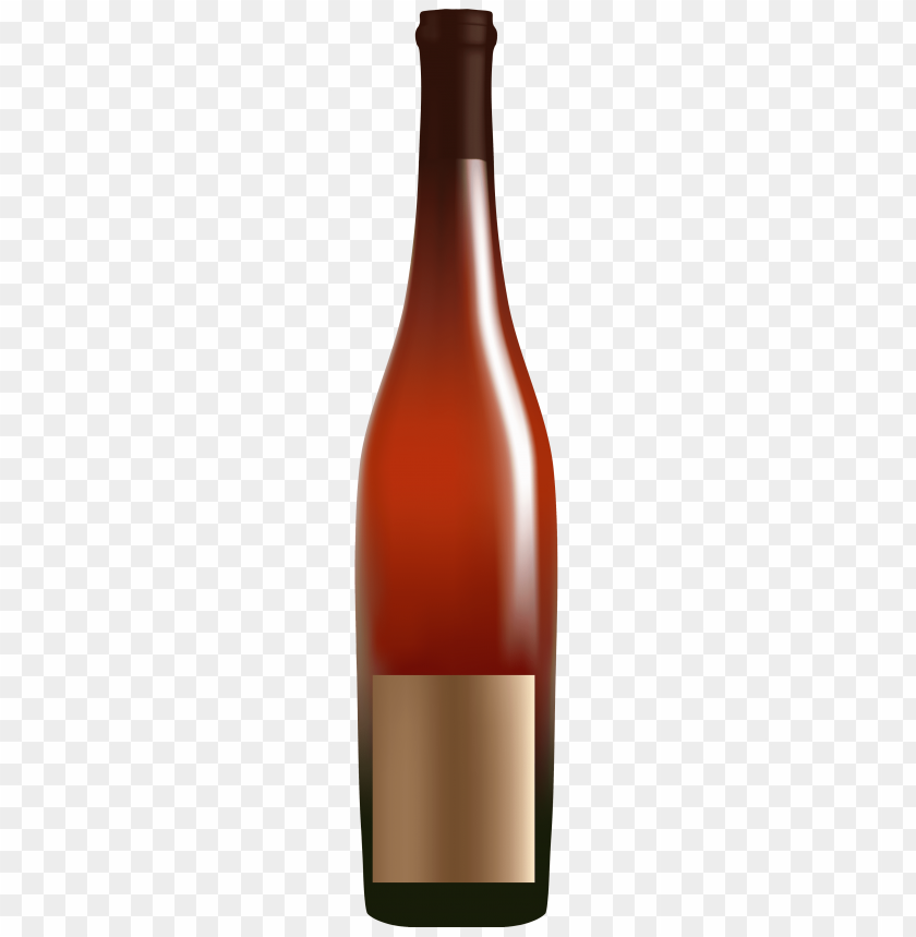 Download red alcohol bottle clipart png photo.