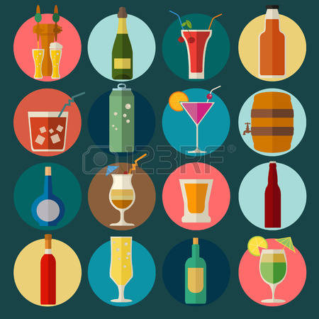 Alcohol Consumption Cliparts, Stock Vector And Royalty Free.