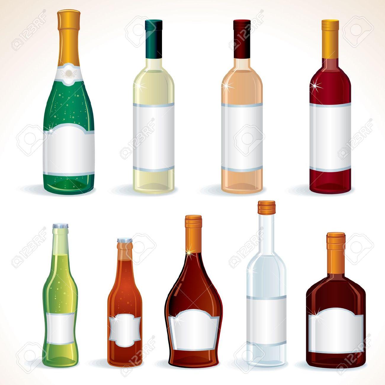 Liqueur clipart clipground for Liquor bottle art