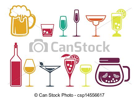 Free clipart alcoholic drinks.