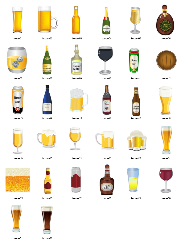 Alcohol clipart free.