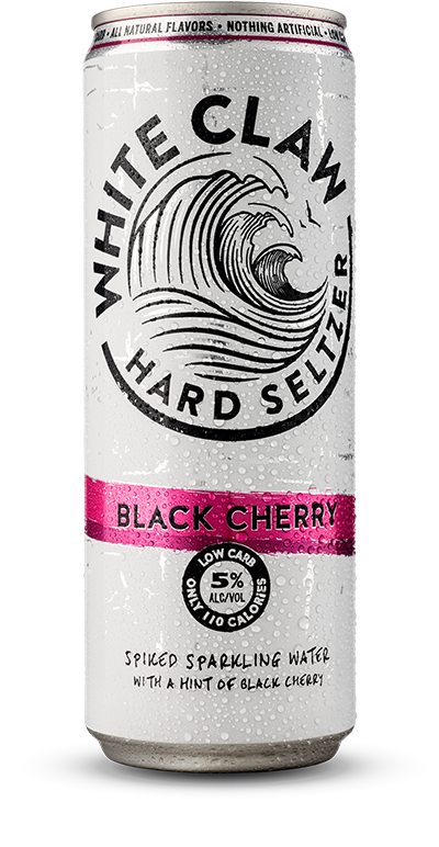Picture of can of White Claw Hard Seltzer.