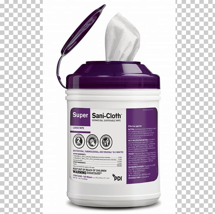 Disinfectants Textile Wet Wipe Disposable Isopropyl Alcohol.