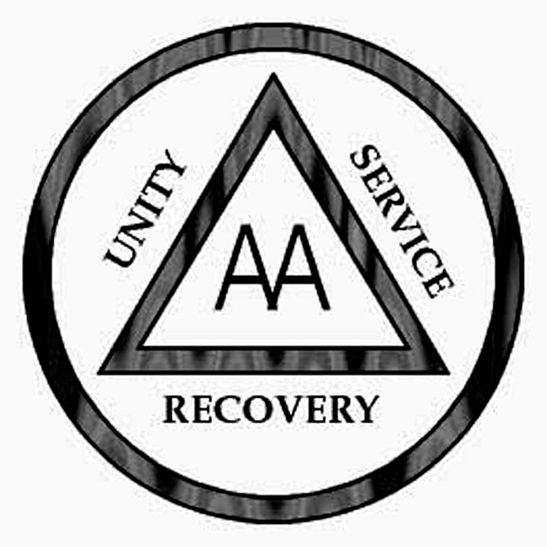 Showing post & media for Alcoholics anonymous symbol.