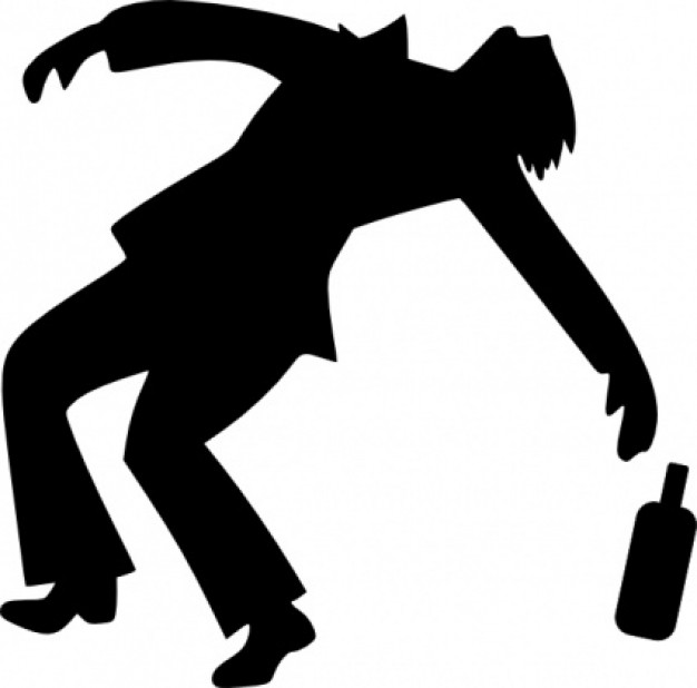 Drunk Clipart.