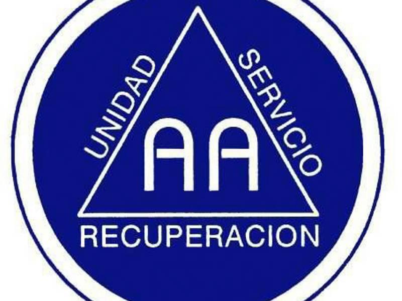 Alcohólicos Anónimos Logo.