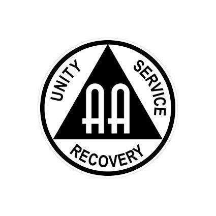 Amazon.com: AA Alcoholics Anonymous Symbol.