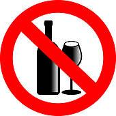 Clip Art Say No To Alcohol Clipart.