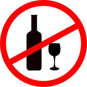 Clip Art Say No To Alcohol Clipart.