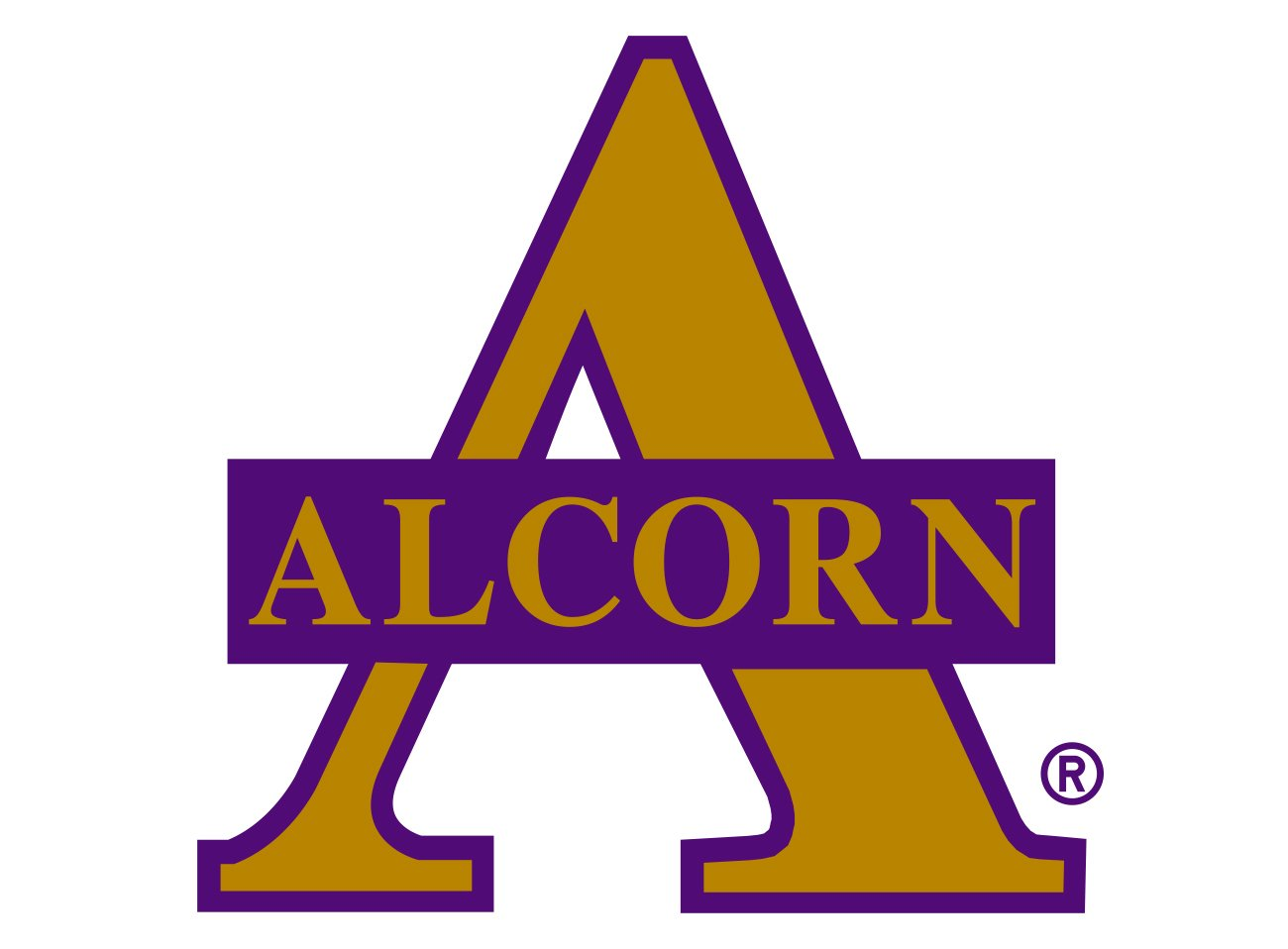 ALCORN STATE BACKPACK.