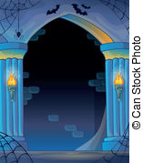 Vector Illustration of Wall alcove image 3.